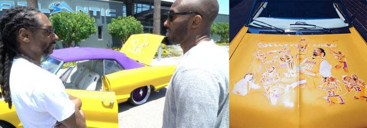 snoop and kobe