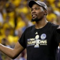Kevin Durant Embarrassed Himself With Some Bud Light In The Post-Game Celebration